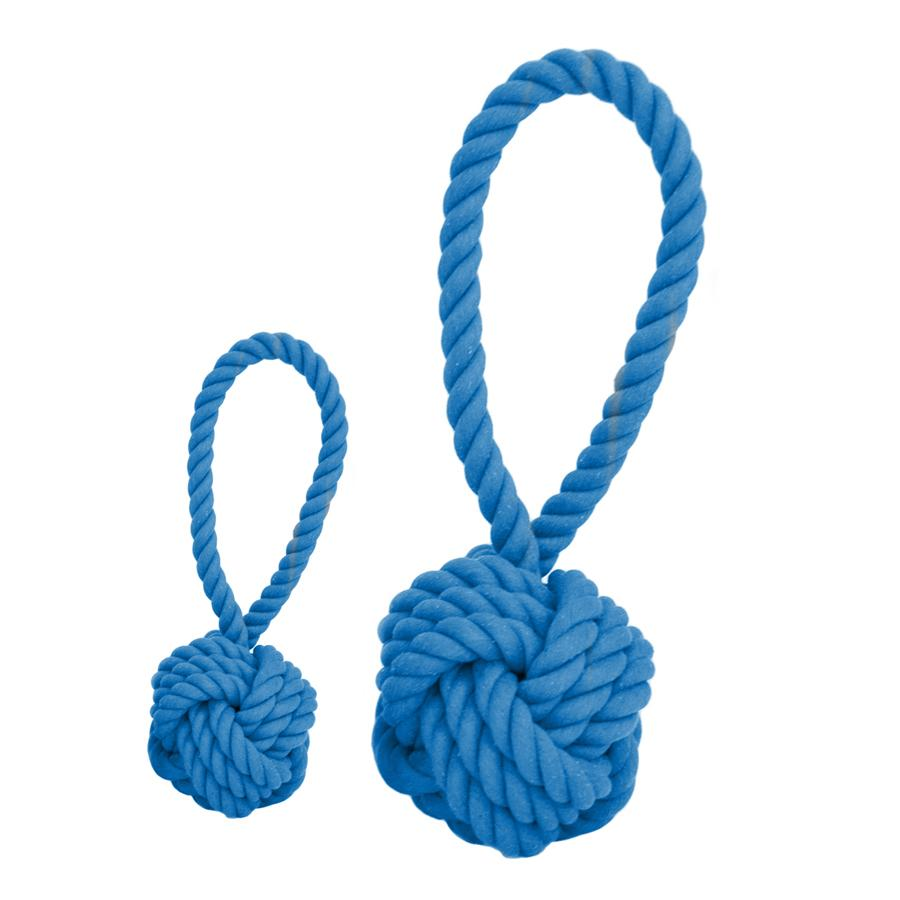 HARRY BARKER | Tug and Toss Rope Toy in Blue