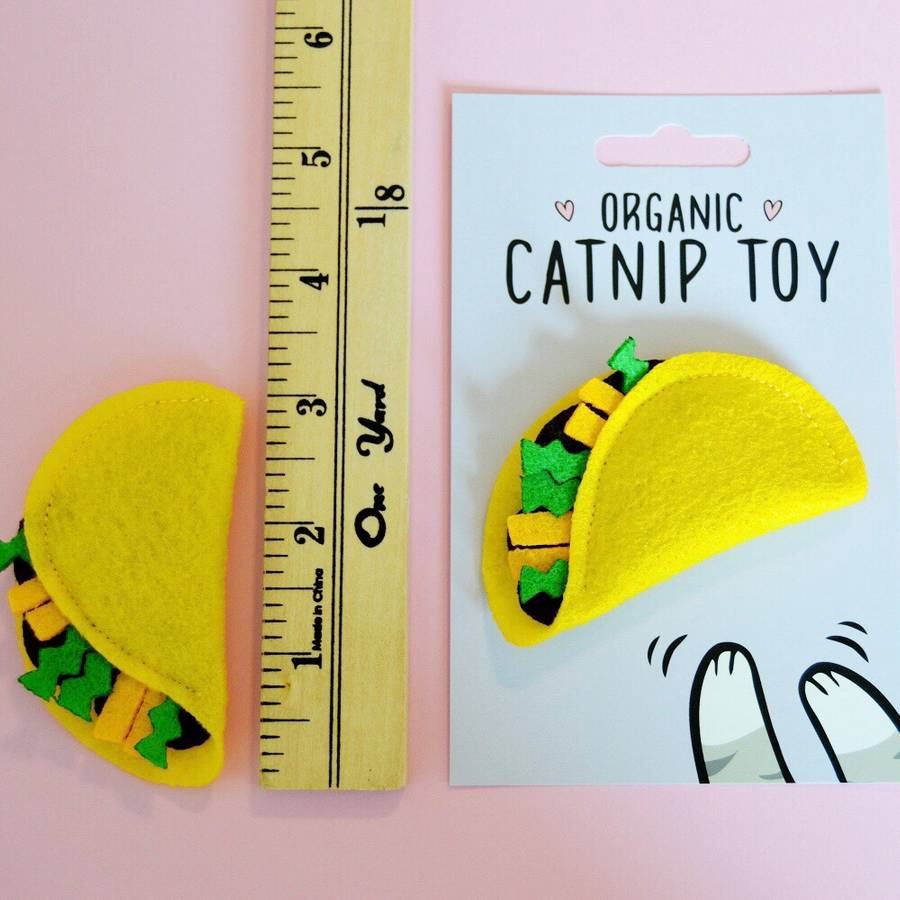 HOUSECAT CLUB | Catnip Taco Toy