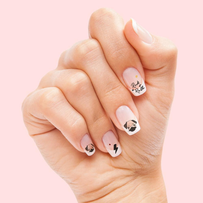 HOUSE OF WONDERLAND | Pugs Rockin Claws Nail Transfers