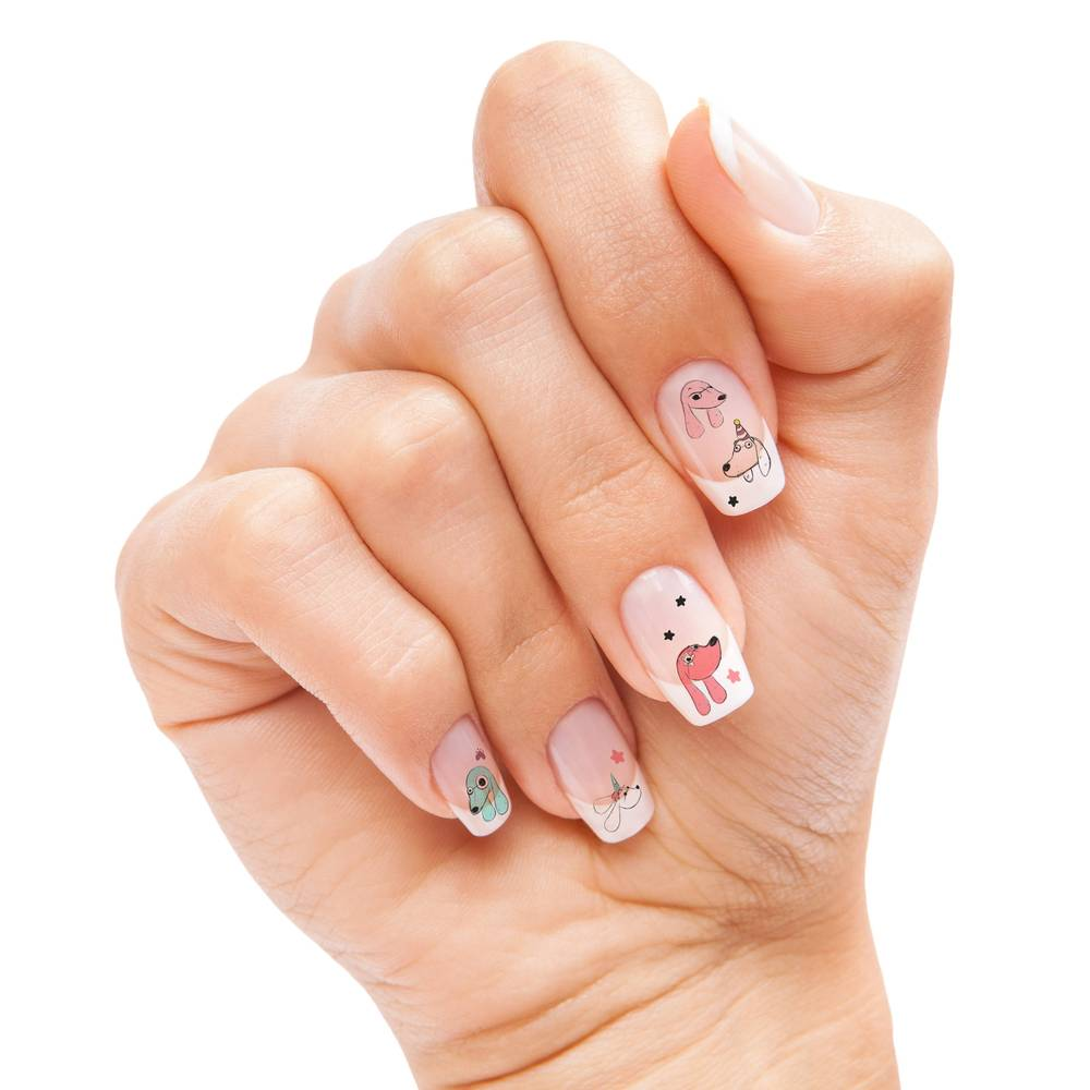 Rockin Claws Puppy Party Nail Transfers