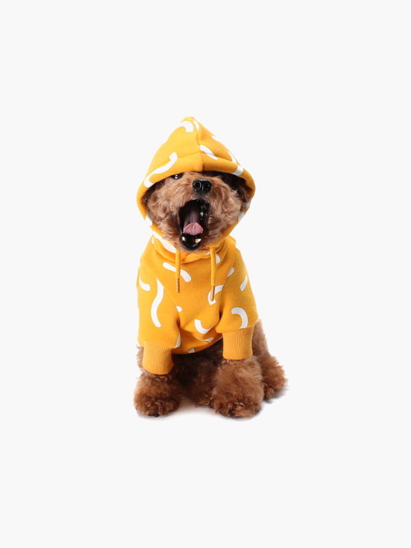 HUTS & BAY | Jelly Hoodie in Yellow