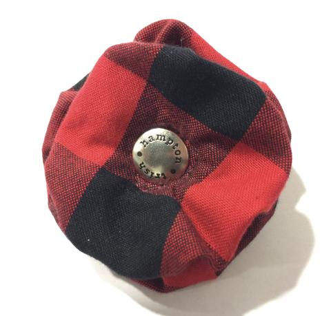 TRISH HAMPTON | Buffalo Plaid Collar Blossom