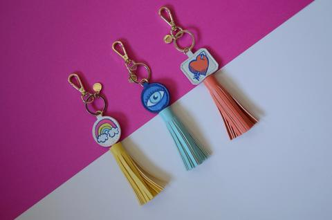 AH-DORNED | Rainbow Leash Tassel