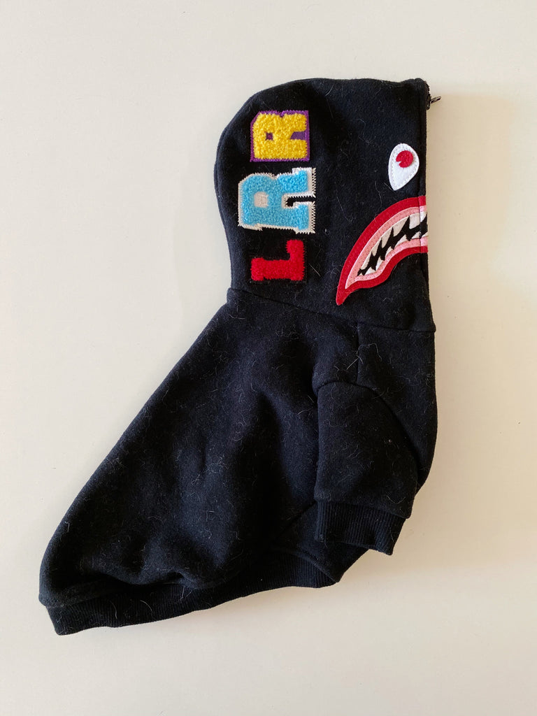 LITTLE RED ROCKET | Shark Hoodie (PUPCYCLED | X-Small)