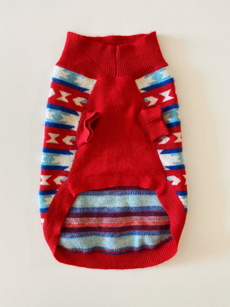 RUBY RUFUS | Snowflake Cashmere Sweater (PUPCYCLED | X-Small)