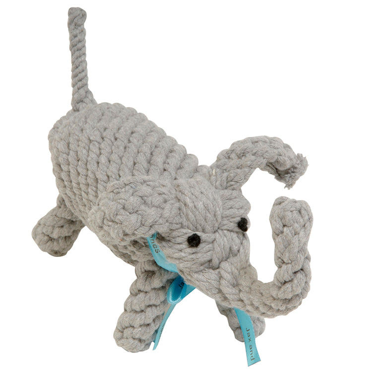 Coco the Elephant Rope Toy