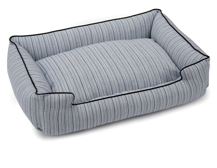 JAX & BONES | Lounge Bed in Pinstripe