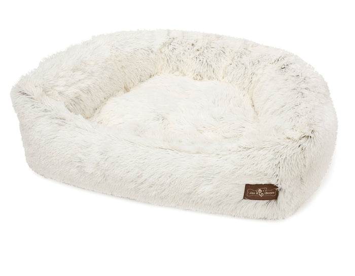 JAX & BONES | Napper Bed in Arctic Shag