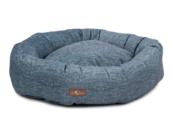 JAX and BONES | Denim Donut Bed