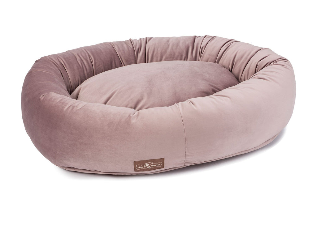 Donut Bed in Vintage Mauve (Custom/Drop-Ship)