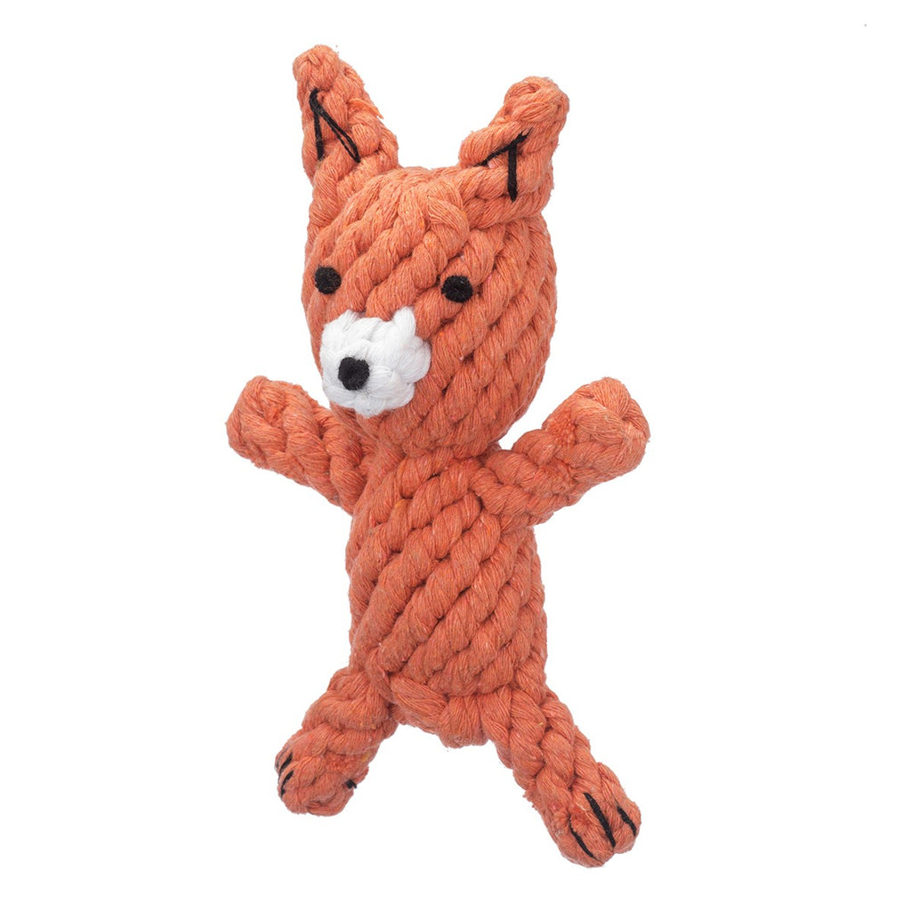 Jax Amp Bones Frederick The Fox Rope Toy Dog Amp Co