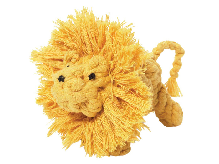 JAX & BONES | Larry the Lion Rope Toy