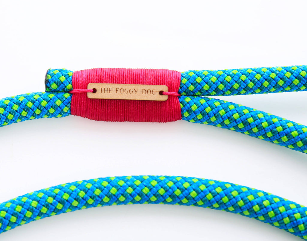 THE FOGGY DOG | Climbing Rope Leash in Jewel