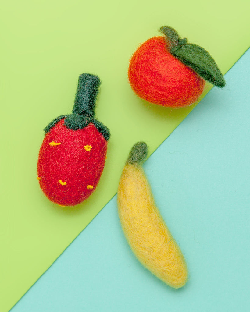 Farmer Cat Produce Toys (Fruit Set)