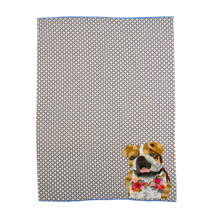KARMA LIVING | Iconic Dog Tea Towel