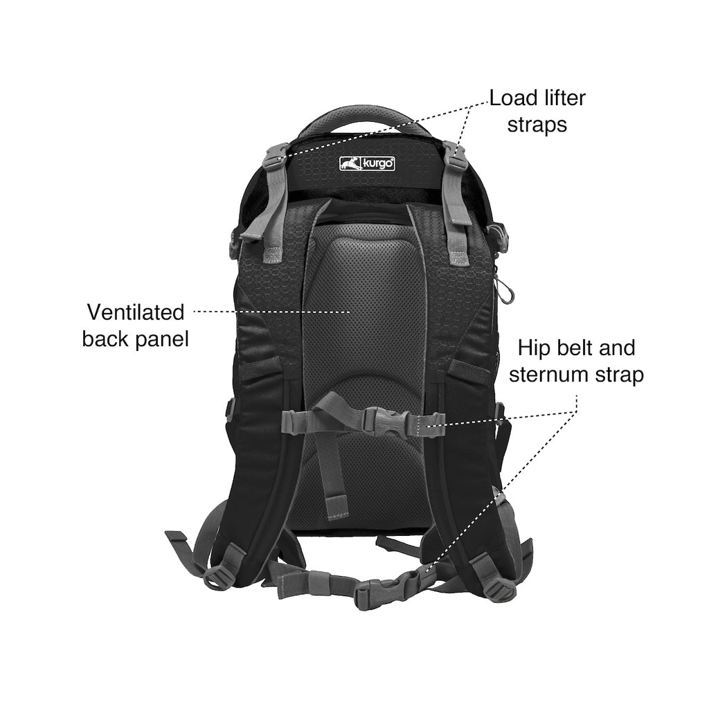 KURGO | G-Train Backpack in Black