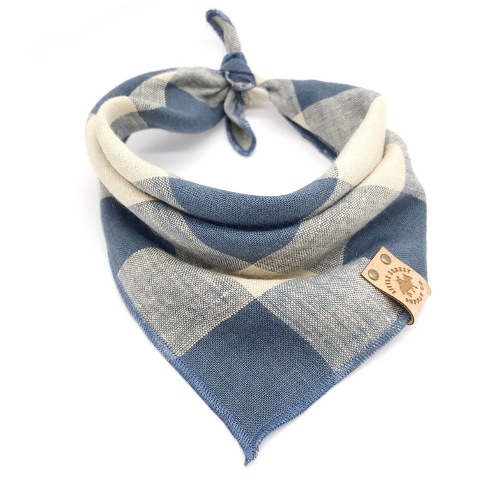 LITTLE DONKEY SUPPLY CO. | Blue Buffalo Bandana