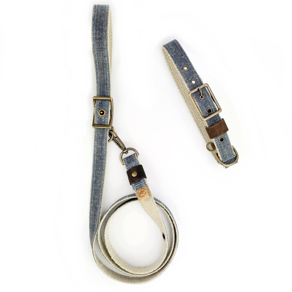 Denim Buckle Collar (FINAL SALE)