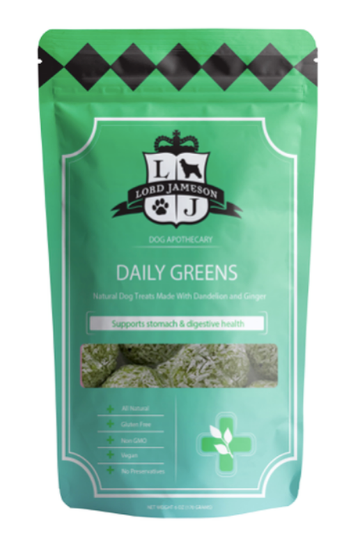LORD JAMESON | Daily Greens Treats