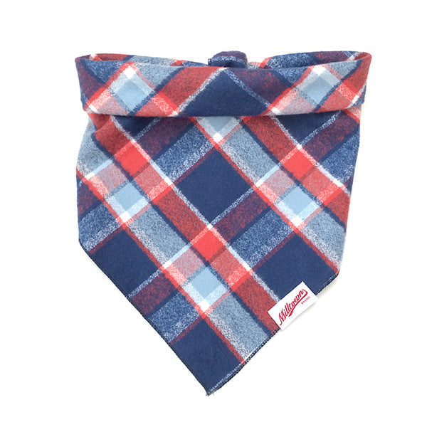 M.N. DAVIS & SON | Dog Bandana in Americana Flannel