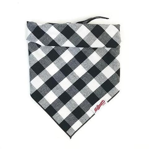 M.N. DAVIS & SON | Dog Bandana in Buffalo Plaid