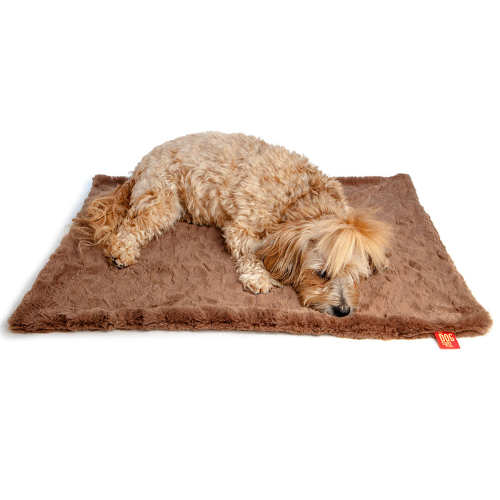 THE DOG SQUAD | Mocha Minkie Blanket