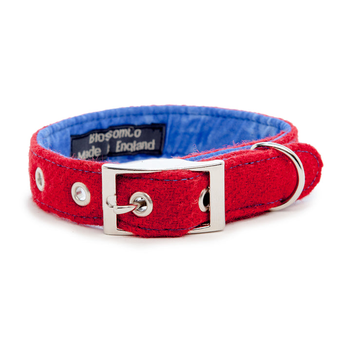 BLOSSOM CO. | Vatersay Harris Tweed Dog Collar