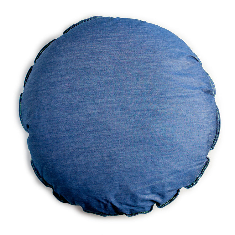 DEN DOG BEDS | Dog Bed in Whistle Blue Denim
