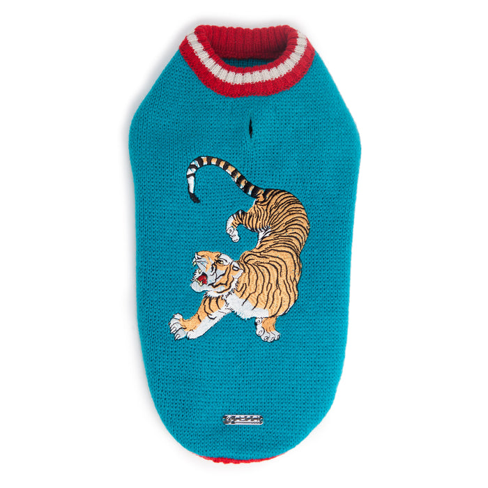 CROCI | Street Fighter Tiger Sweater