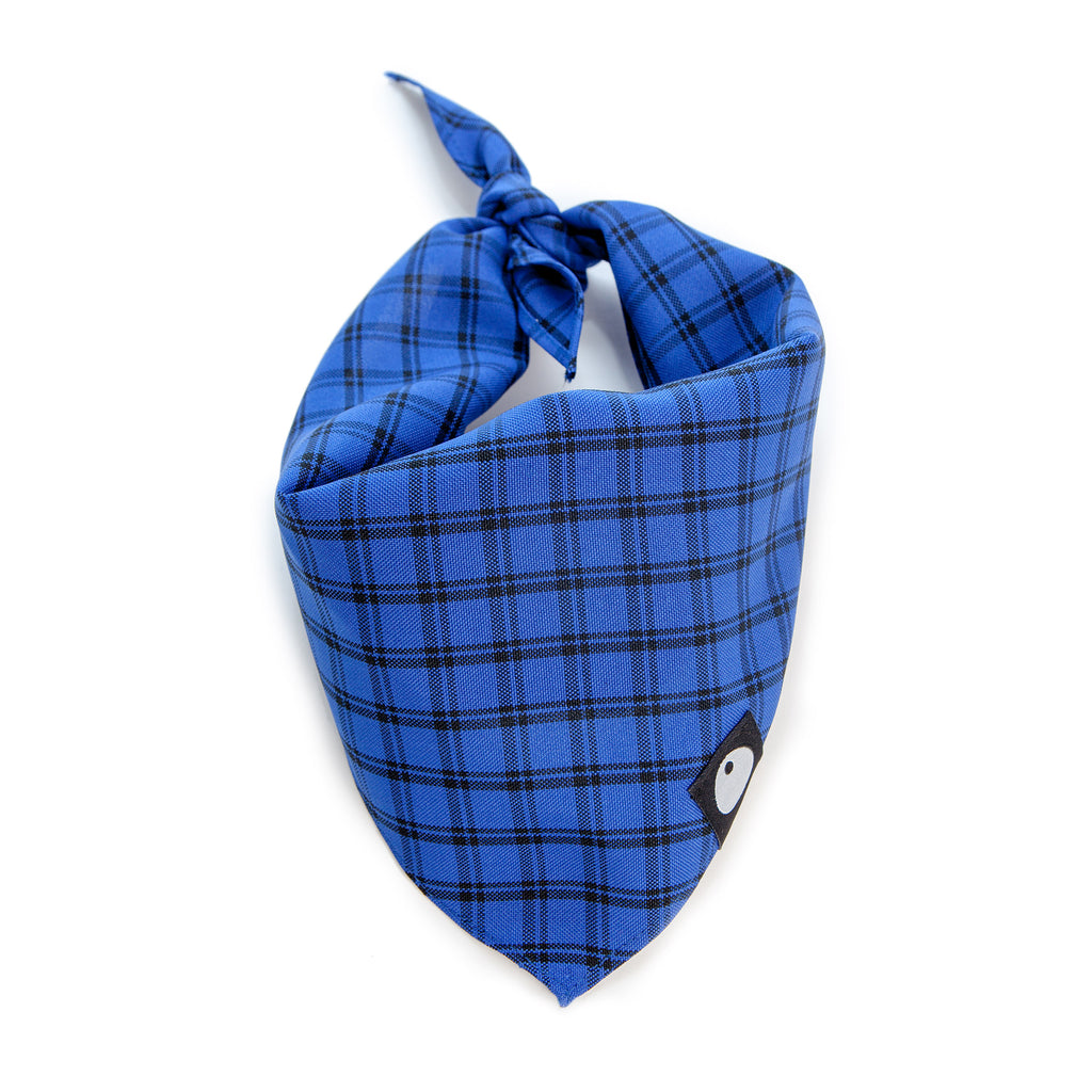 Check Bandana in Cobalt Blue (FINAL SALE)