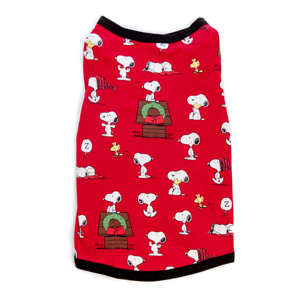 BEDHEAD | Snoopy's Christmas Lounge Dog T Shirt
