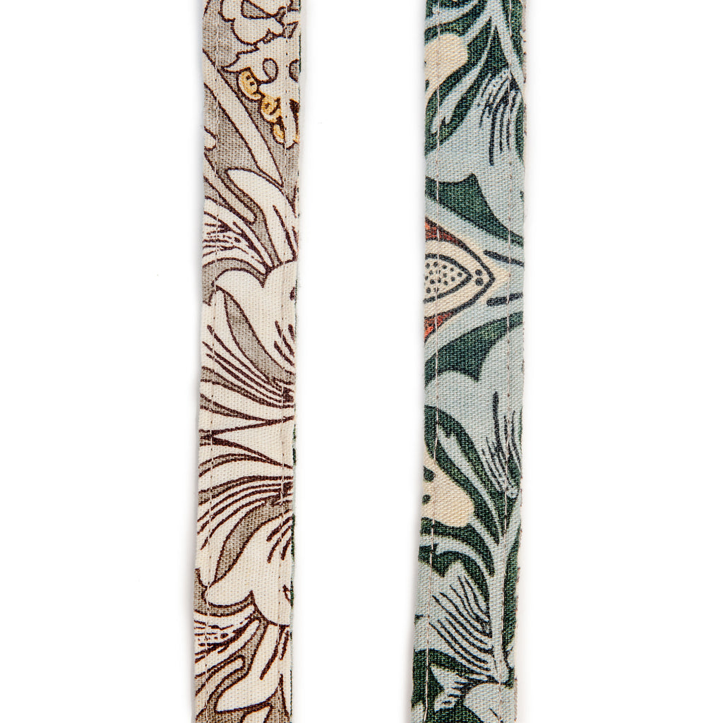 BLOSSOM CO. | Snakeshead William Morris Print Dog Lead
