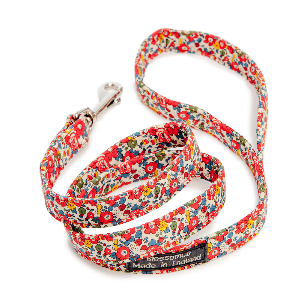 BLOSSOM CO. | Betsy Liberty Print Floral Dog Lead