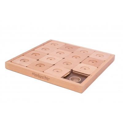 Wooden Sudoku Dog Treat Puzzle Game (16 Squares)