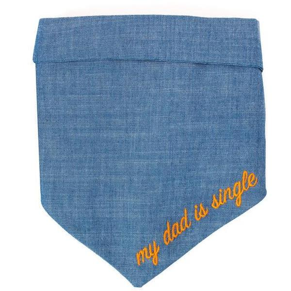 MODERN BEAST | My Dad is Single Chambray Bandana