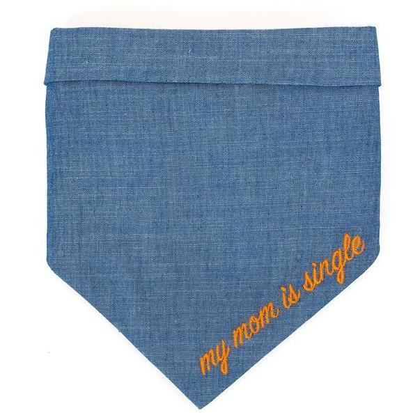 MODERN BEAST | My Mom is Single Chambray Bandana