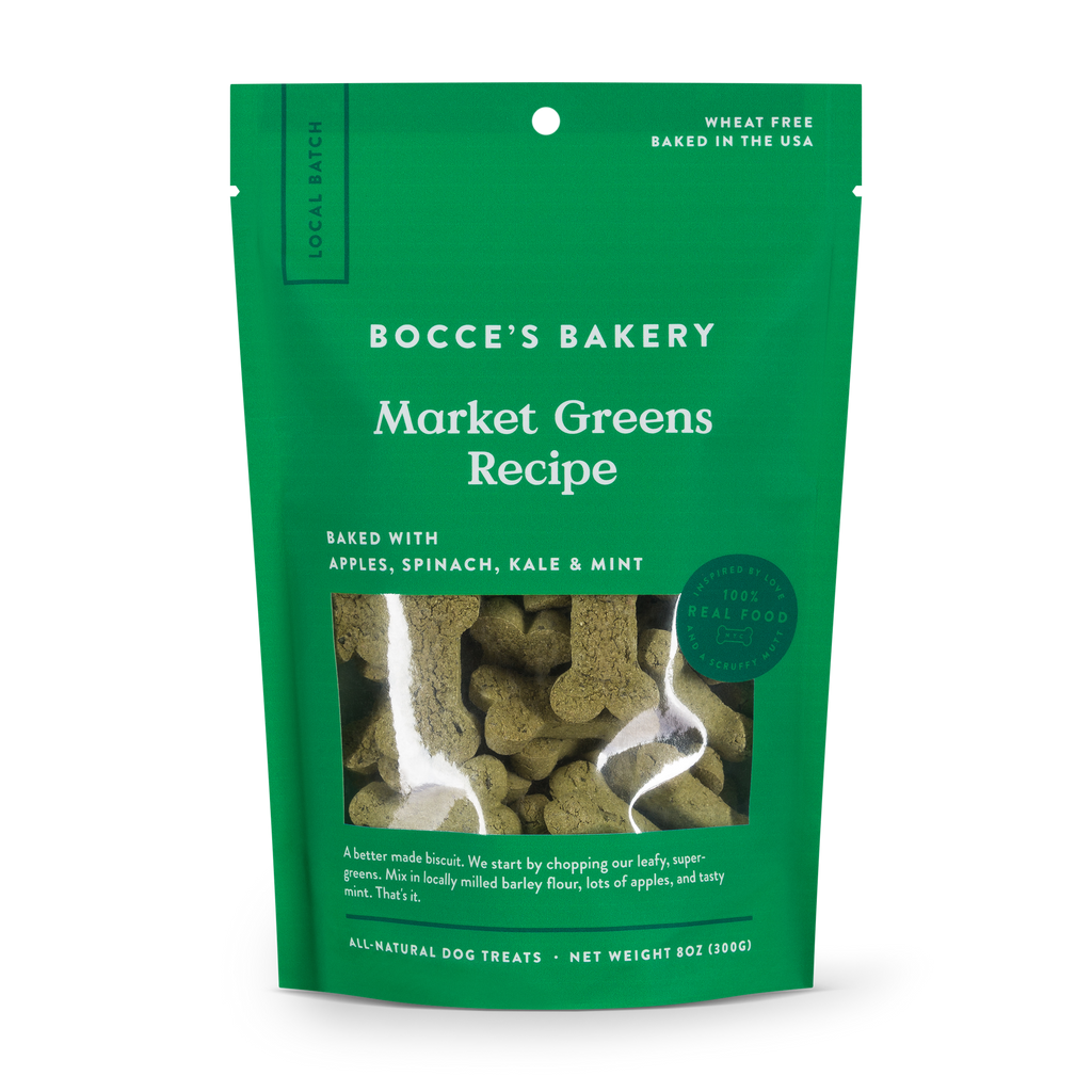 Market Greens Biscuit Bag