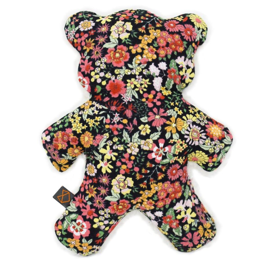 MODERN BEAST | Mini-Lavender Bedtime Bear in Black Floral
