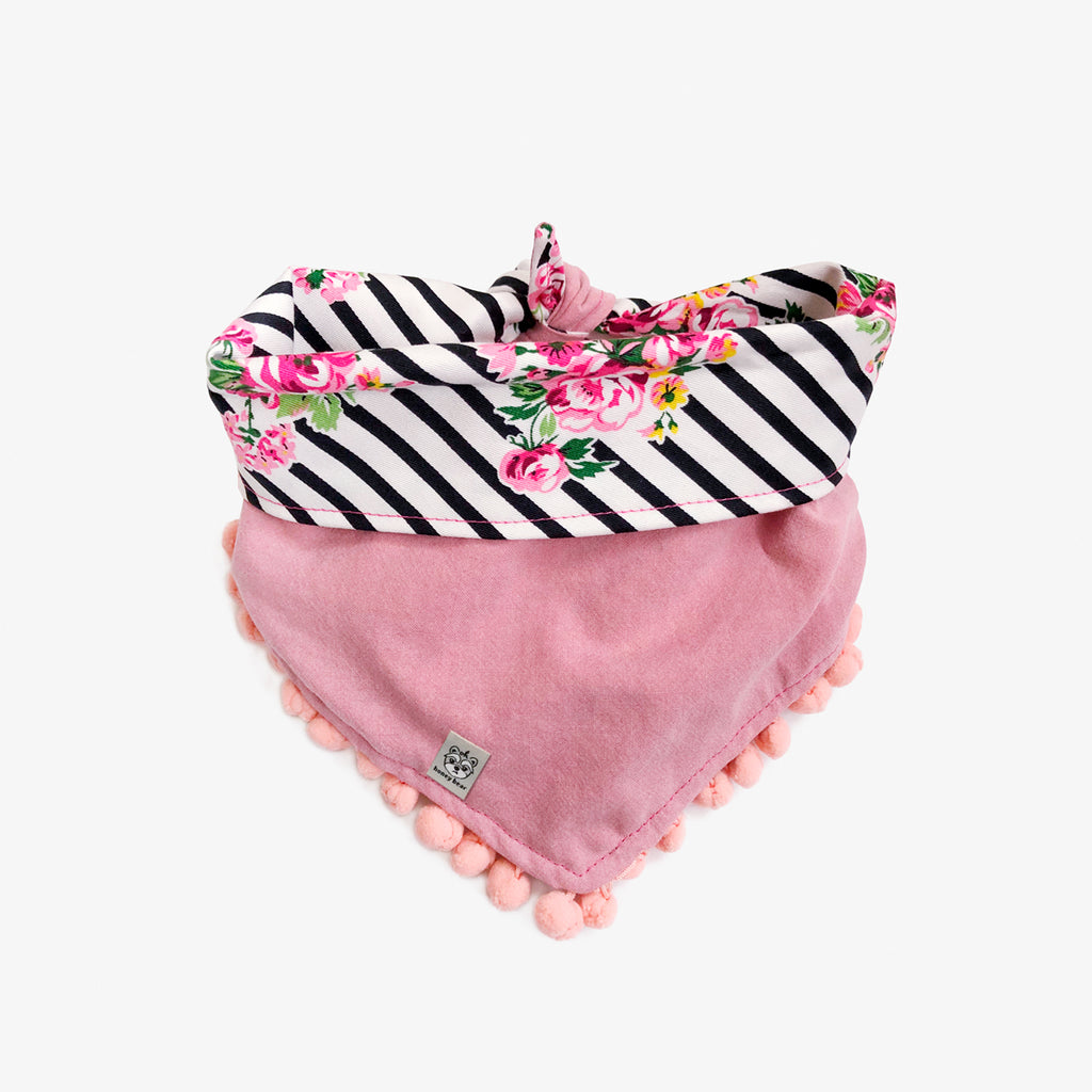 OH HONEY BEAR | Charlotte Pom Pom Bandana