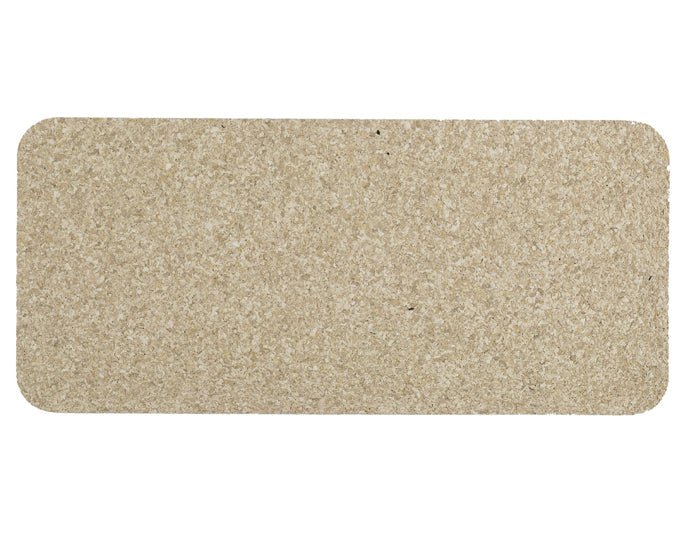 ORE PET | Skinny Rectangle Natural Recycled Rubber Pet Placemat