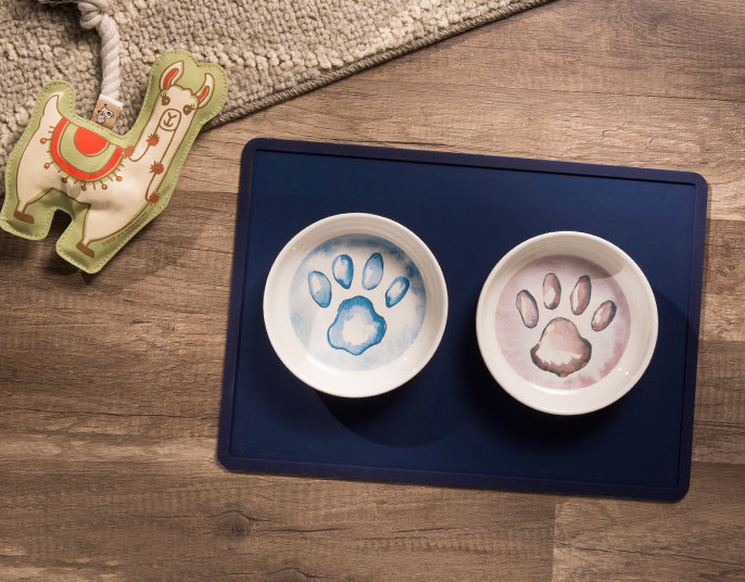 ORE PET | Silicone Placemat in Indigo