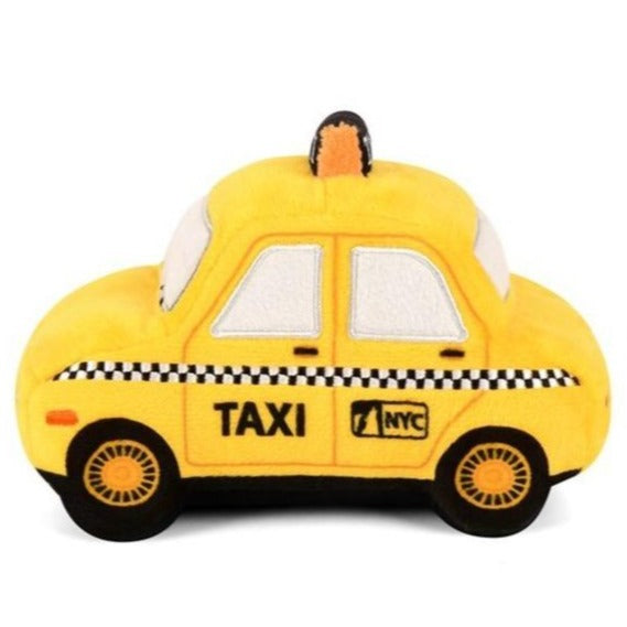 Canine Commute Taxi Plush Dog Toy