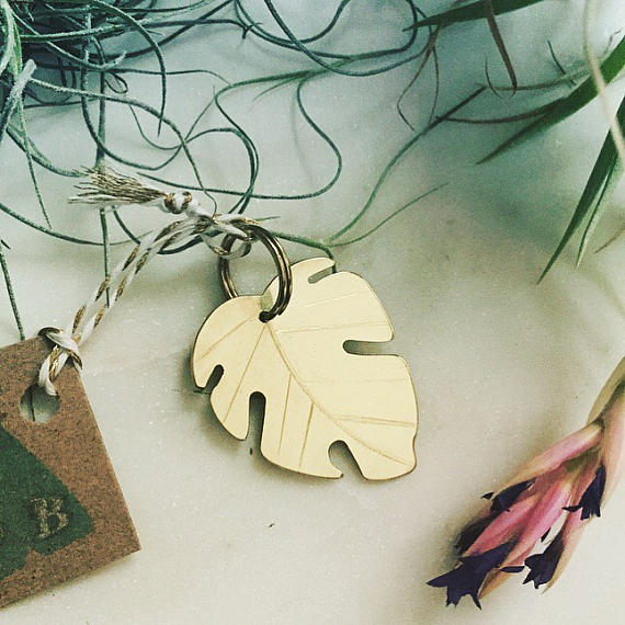 Monstera Leaf Tag (Custom/Drop-Ship)