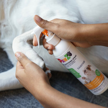 Sanipaw Daily Paw Sanitizing Spray