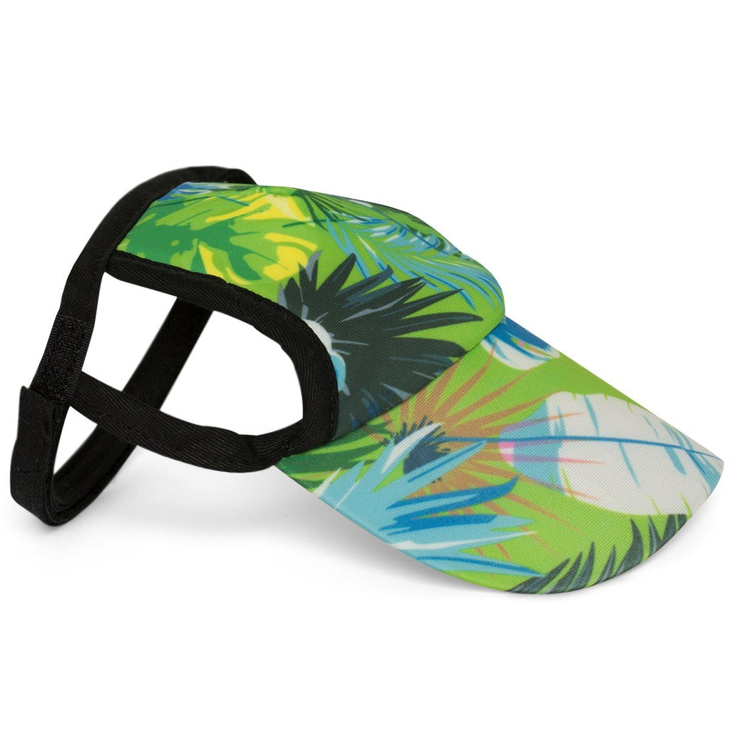 PLAYA PUP | Dog Visor in Tropical Treasure Green