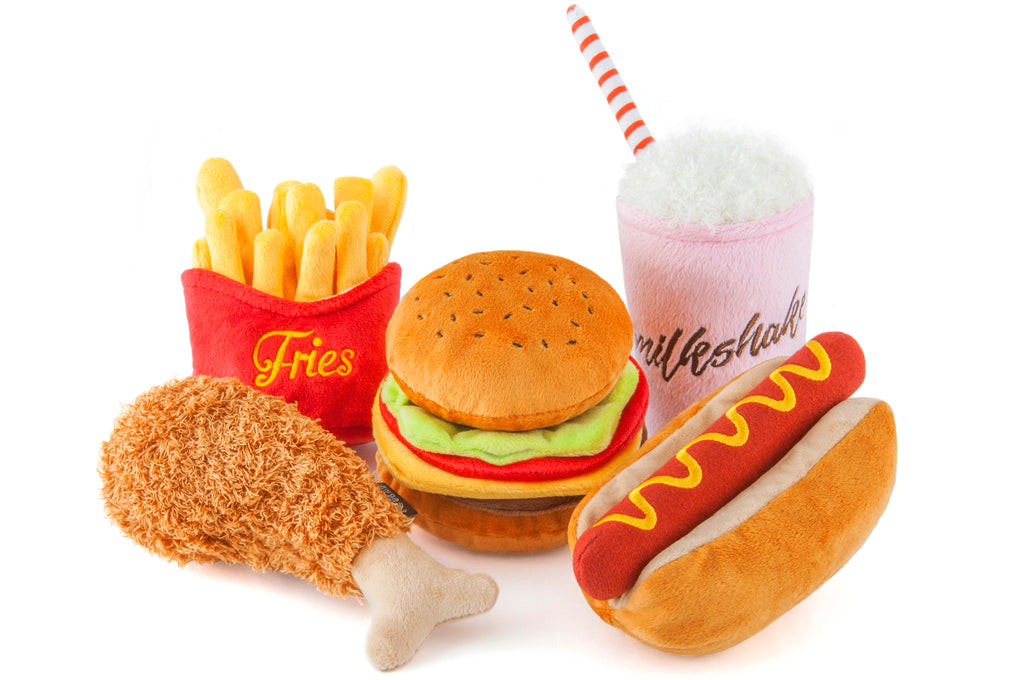 American Classic Hot Dog Plush Toy
