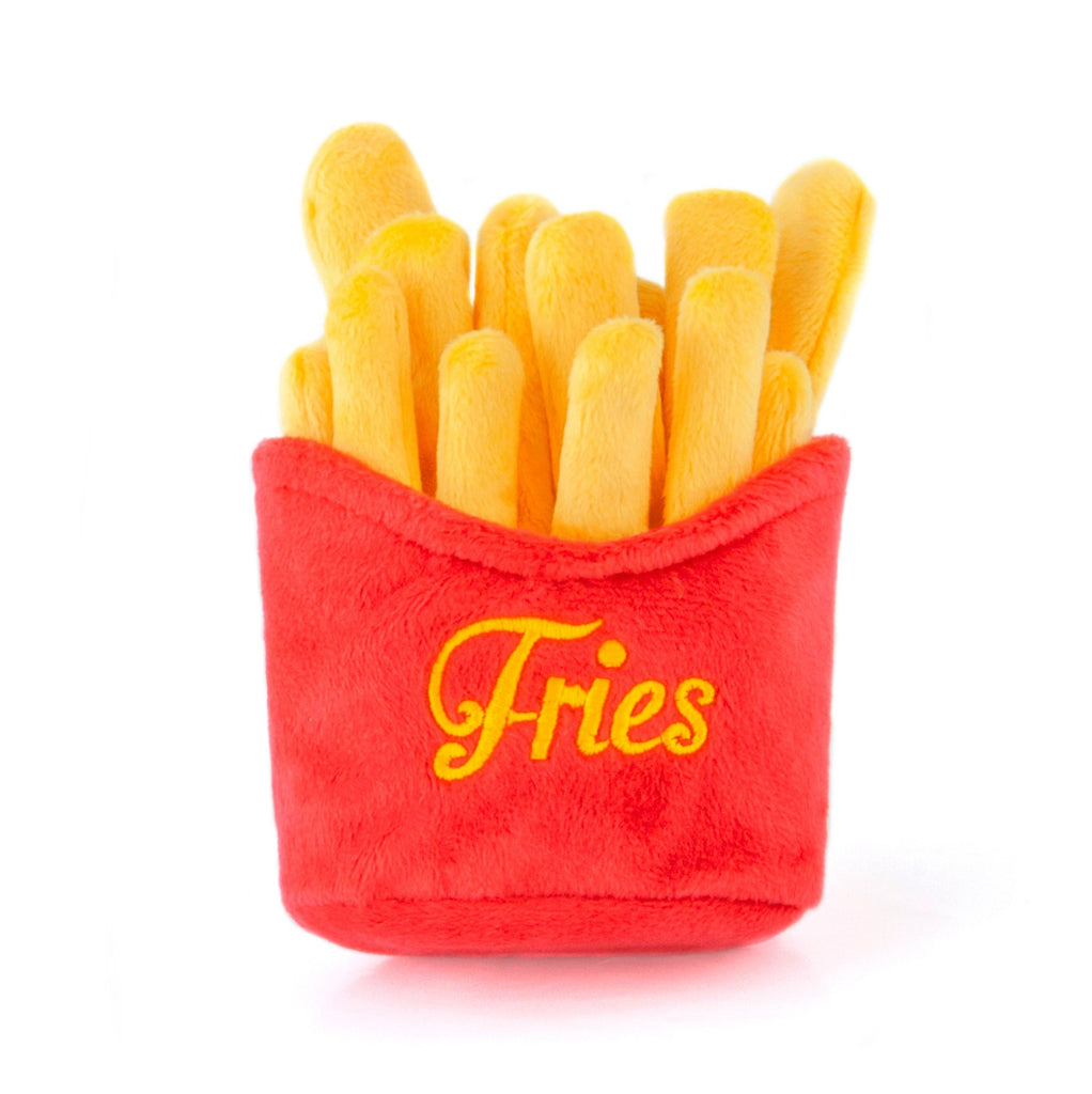 American Classic French Fries Plush Dog Toy