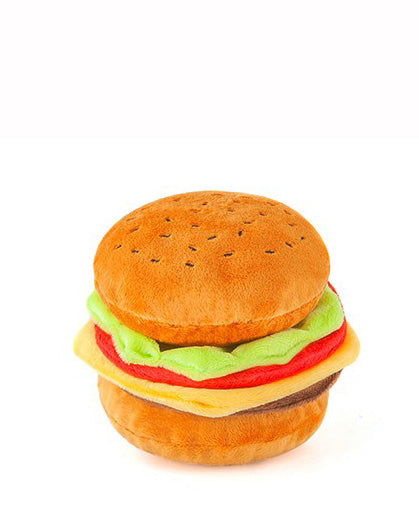 Mini Hamburger Plush Toy (Immediate Ship)