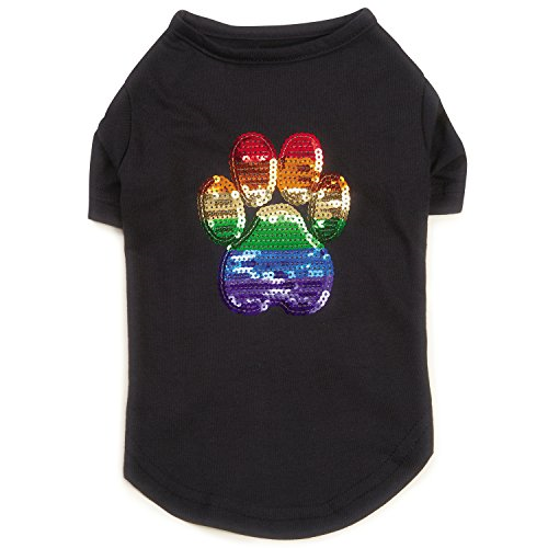 PUPPY PRIDE | Sequin Tee