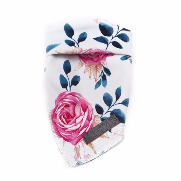 PUPSTYLE | Fresh Blooms Tie-Up Reversible Bandana